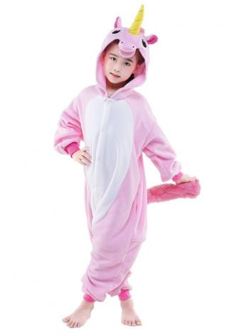 Пижама кигуруми розовый Единорог