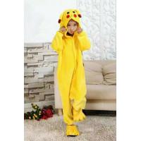 Детская пижама кигуруми Пикачу на пуговицах