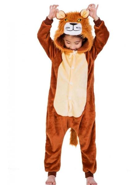 Детская пижама кигуруми Лев