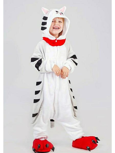 Детская пижама кигуруми Кот Чи