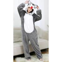 Детская пижама кигуруми Хаски