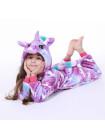Пижама кигуруми Единорог с принтом единорога
