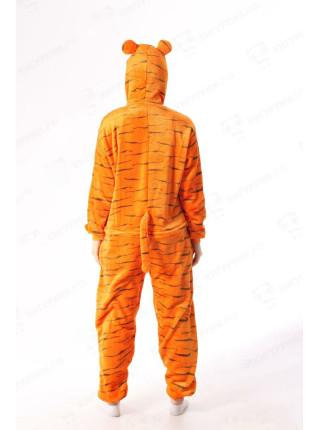 Махровая пижама-кигуруми Тигр