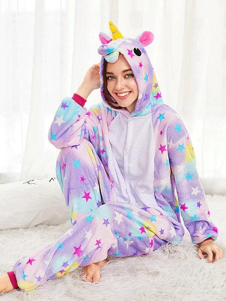 Пижама-кигуруми Единорог Звёздный