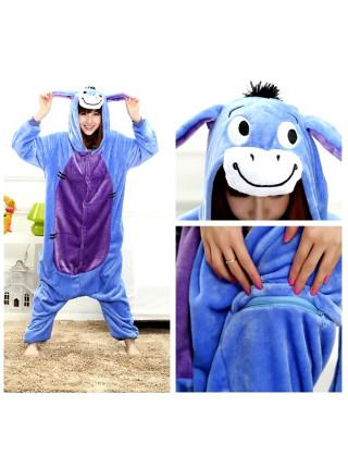 Пижама-кигуруми Ослик ИА (на пуговицах)