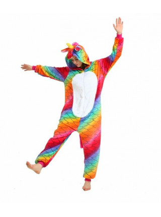 Пижама кигуруми Единорог Чешуйчатый