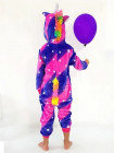Детская пижама кигуруми единорог Галактика
