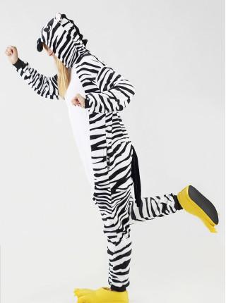 Пижама кигуруми Зебра