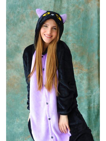 Пижама кигуруми черная кошка Спуки