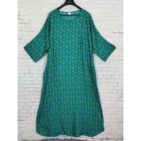 Летнее прогулочное платье с цветочным узором