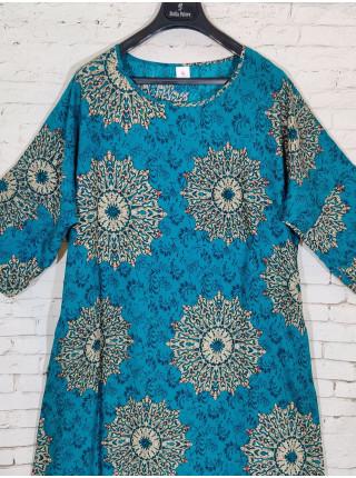 Стильное прогулочное платье с укороченными рукавами