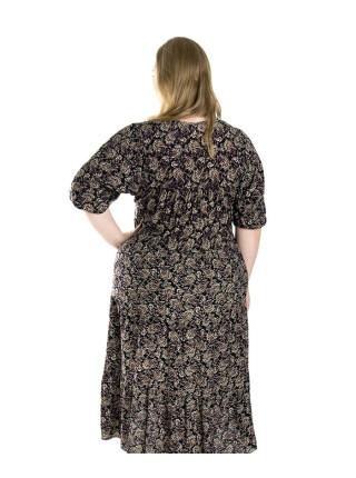 Женское летнее платье из штапеля