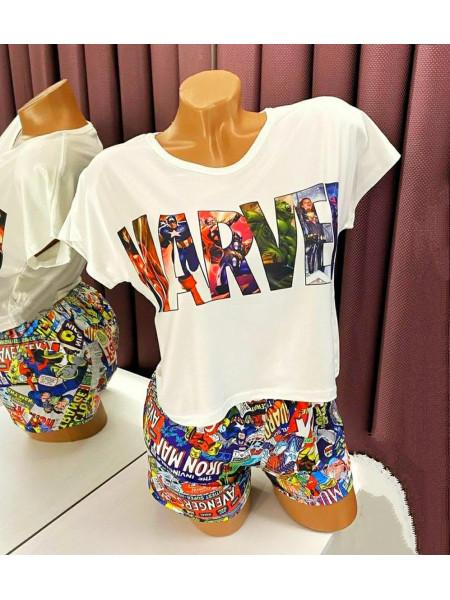 Женская трикотажная пижама Marvel