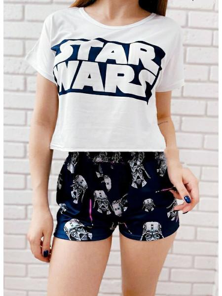 Женская трикотажная пижама Star Wars