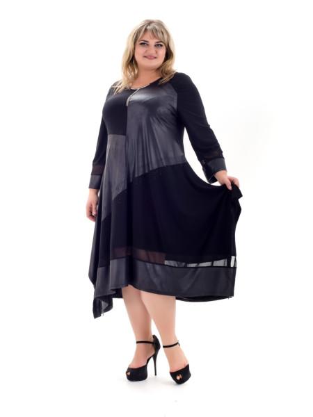 Стильное женское платье Хельга больших размеров