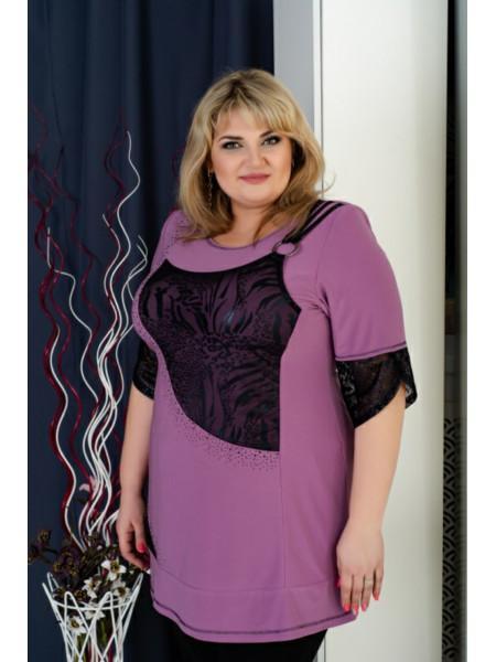 Блуза женская Джейн больших размеров