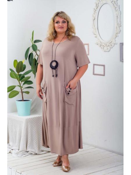 Женское платье Айсидора больших размеров
