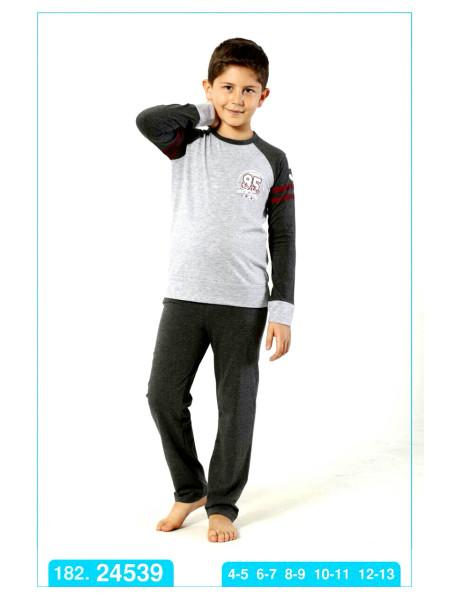 Пижама-костюм для мальчиков хлопковая