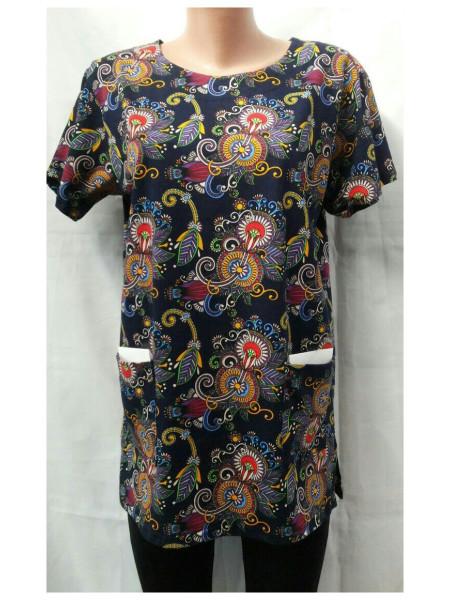Женская туника футболка большого размера