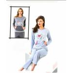 Женские пижамы осень-зима
